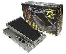 Morley Cliff Burton Tribute Series Power Fuzz Wah Pedal Metallica PFW