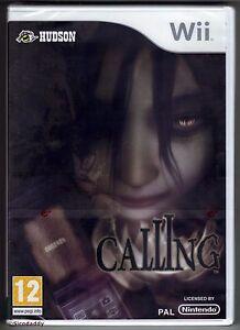 Nintendo-Wii-Calling-2010-UK-Pal-Brand-New-amp-Nintendo-Factory-Sealed