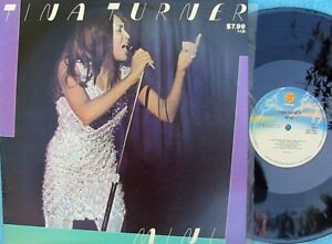 Details about Tina Turner ORIG OZ LP Mini LP NM '84 Fantasy L18001 R&B Funk  Soul