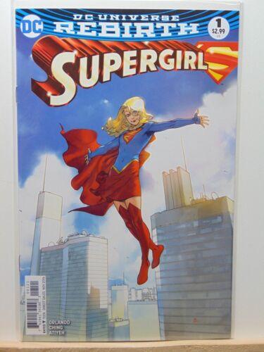 Supergirl #1 Rebirth Variant D.C Universe Comics CB4300