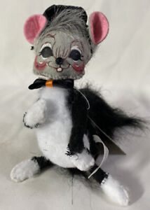 RARE-Annalee-Halloween-Doll-2005-TRICK-OR-TREAT-CAT-MOUSE-6-034