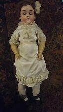 """Antique Max Handwerck -bisque doll 24"""""""