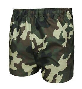 provino Impollinare Chi  Costume da bagno uomo militare mimetico shorts pantaloncino boxer bermuda  mare   eBay