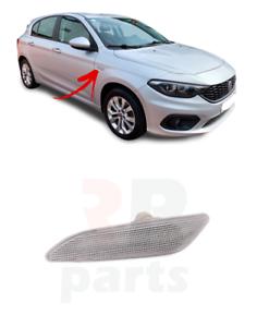 Pour Fiat Tipo 2016-2019 aile avant côté Répétiteur Lampe Paire Set