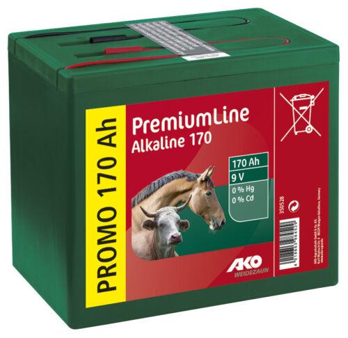 Alkaline 9 Volt Trockenbatterie 9 Volt 170 Ah AKO Kerbl