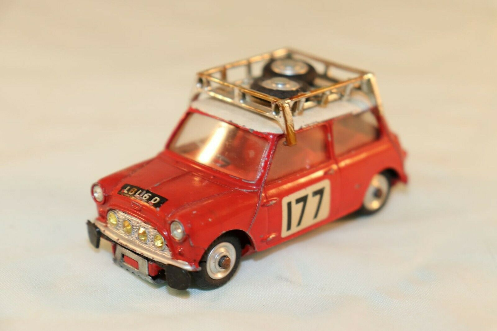 Corgi Toys 339 BMC Mini Cooper S Monte carlo excellent plus original condition