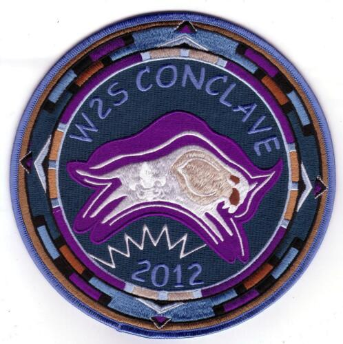 Section W2S 2012 Conclave Full Patch Set Lodge 508 520 535 Mint FREE SHIPPING