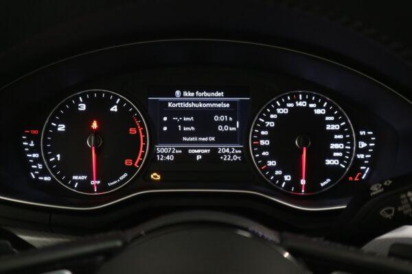Audi A4 2,0 TDi 190 Sport Avant S-tr. billede 10