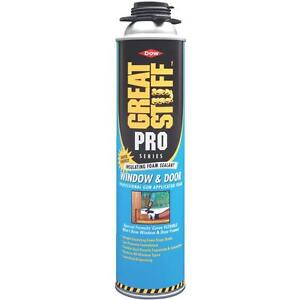 3 Pk GREAT STUFF PRO 20 Oz Orange Window & Door Applicator Foam Sealant 187273