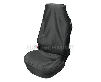 QUALITY BLACK FRONT SEAT COVER//PROTECTOR FOR CAR//VAN//LORRY SEAT