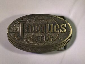 Vintage-1977-Jacques-Seeds-Farmers-Feed-The-World-Advertising-Belt-Buckle