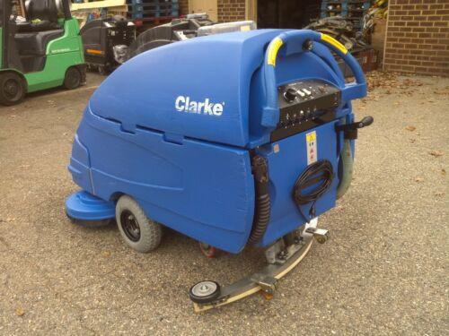 """RECONDITIONED CLARKE FOCUS S28 Walk-Behind 28/"""" Floor Scrubber under 700HR"""