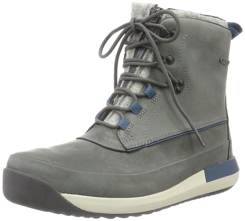 Clarks Mens  Johto Rise Gtx  Winter Stiefel  grau Nubuck  UK 8,9,10,11 G