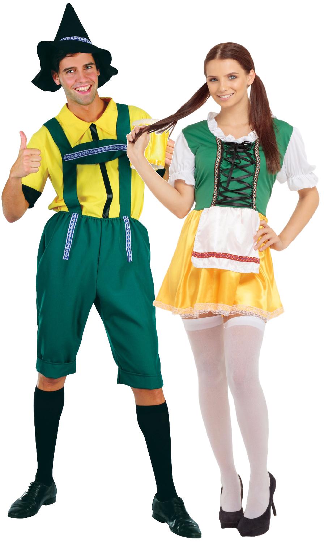 Paar Herren & Damen Damen Damen Deutsches Oktoberfest Festival Kostüm Verkleidung Outfit | Um Zuerst Unter ähnlichen Produkten Rang  756bb6