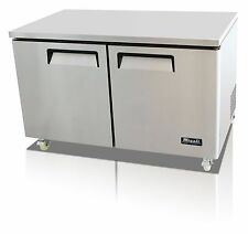 Migali C U60r Hc Commercial Two Door Undercounter Refrigerator