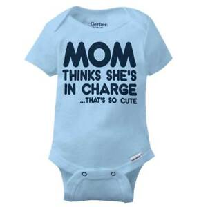 Mom-Thinks-Shes-In-Charge-Gerber-Onesie-Funny-Sarcastic-Bossy-Baby-Romper