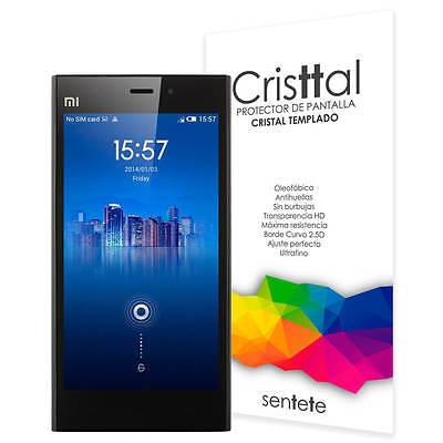 Sentete® Xiaomi Mi3 Protector de Pantalla de Cristal Templado PREMIUM