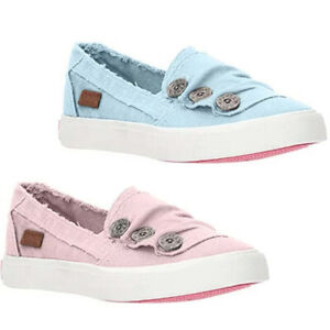 Womens Slip on Pumps Trainers Loafers