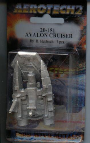 Battletech Aerotech 2 Avalon Cruiser MINT Iron Wind Metals