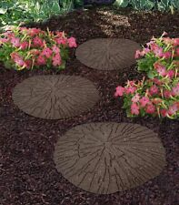 Eco Garden Cracked Log Recycled Rubber Stepping Stone Earth For Sale Online Ebay