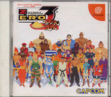 (Used) Dreamcast Street Fighter Zero 3 [Japan Import] ((Free Shipping))、
