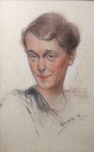Jean-Geoffroy-Detto-Geo-1853-1924-Ritratto-di-Giovane-Donna-Pastelli-Marennes