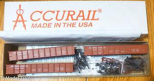 Accurail HO #3711.9  Missouri Pacific 41/' AAR Gondola 2-Pack Plastic Kits