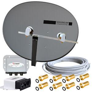 TURKSAT-ASTRA-voreingestellt-Sat-Komplett-Anlage-MAXIMUM-Twin-LNB-Kabel-DiseqC