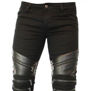 kingz titanium biker herren jeans denim alle gr neu ebay. Black Bedroom Furniture Sets. Home Design Ideas