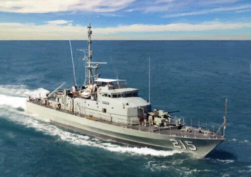 HMAS Geelong-Edición Limitada Arte 25