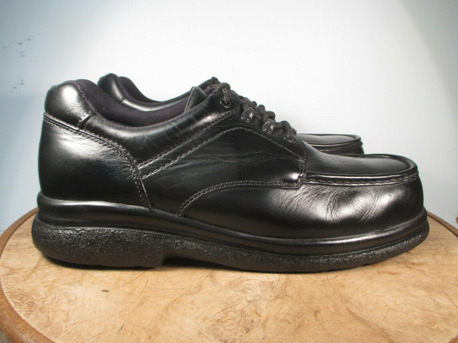 Red Wings SD Safety Toe Black Leather Oxford Work shoes USA Size 12 D medium