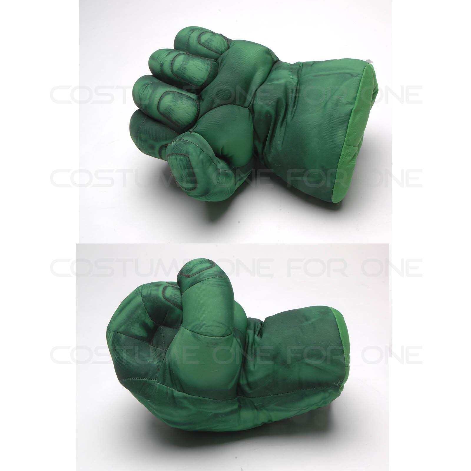 "Set of 2pcs SuperHero SpiderMan Hands Plush Gloves Set Punching Boxing Type Fis/"""
