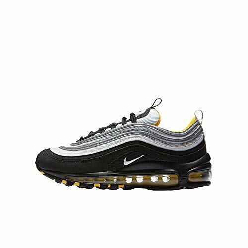 black silver yellow air max 97