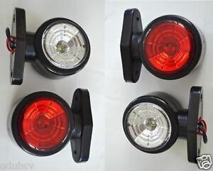 4x 12v recupero indicatore laterale luci led lampada camion ebay