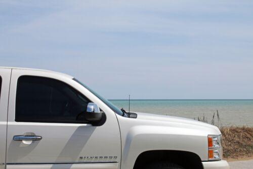 "9/"" Black Spring Stainless AM//FM Antenna Mast Fits 2001-2013 Toyota Highlander"