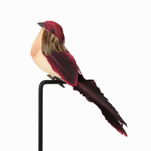 Outdoor DIY Simulation Gardening Fake Craft Birds Artificial Kid Mini Bird Decor
