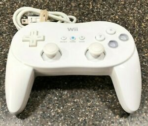 Genuine-Nintendo-Wii-Classic-Pro-Controller-RVL-005-White-Official-OEM-Tested