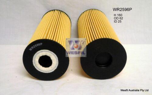 WESFIL OIL FILTER FOR Mercedes Benz E200K 2.0L 2000-2002 WR2596P