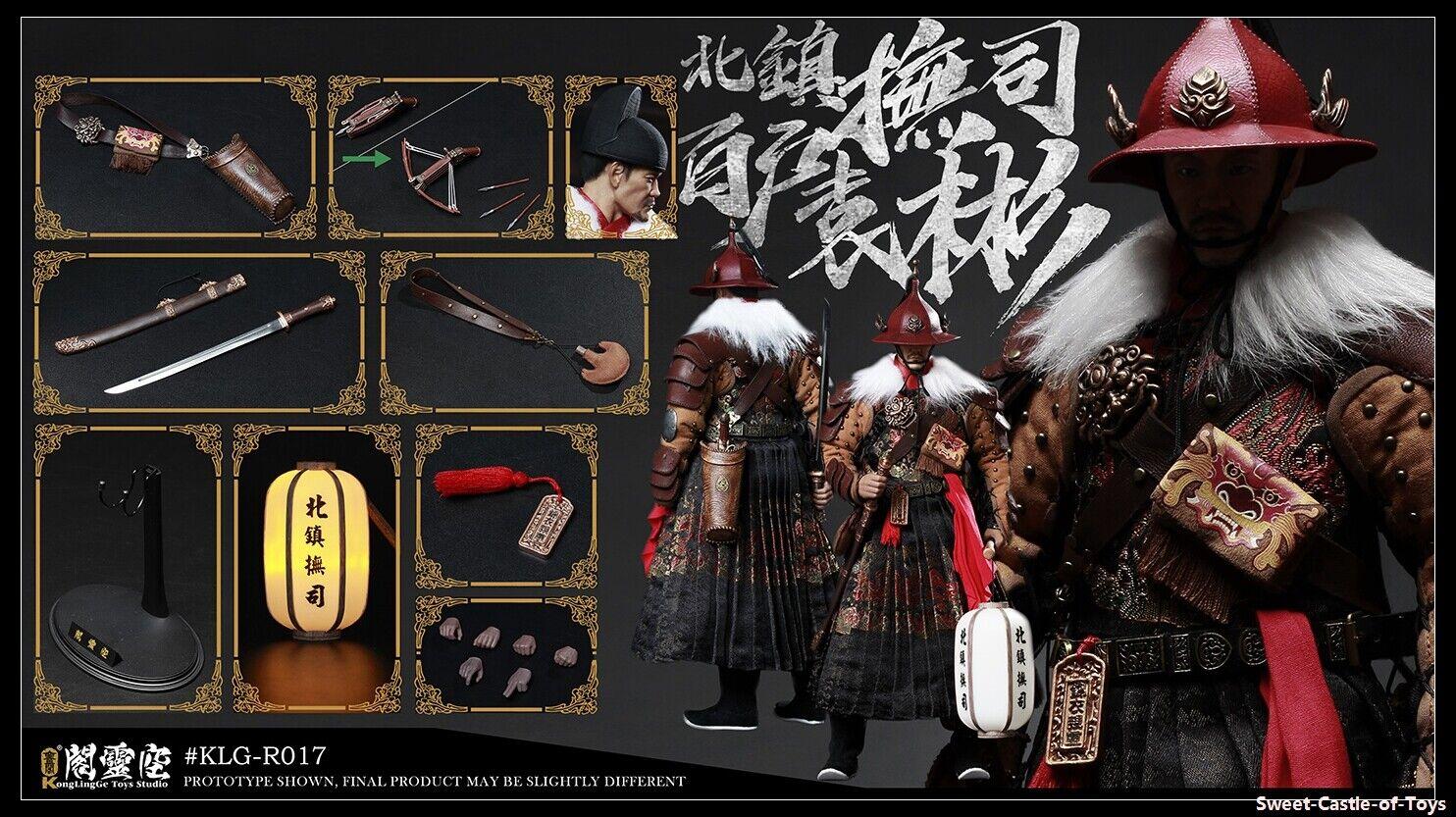 1 6 Kong Ling Ge The Ming Dynasty Yuan Bin Bai Hu of Bei Zhen Fu Si KLG017