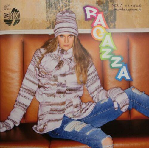 73 Modelle Maschenmode für junge Mädchen #167 Ragazza Nr 7 Lana Grossa