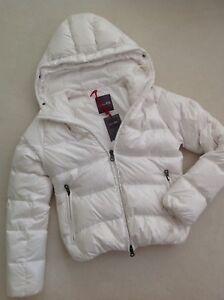 DUVETICA-Daunen-Jacke-Steppjacke-schnee-weiss-it-42-dt-36-S-jacket-white-NEW