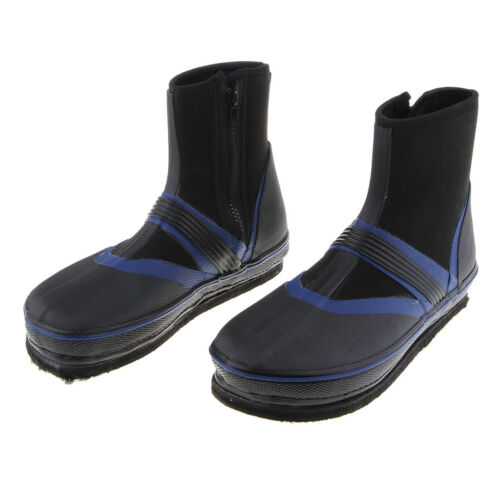 Fishing Boots Shoes Anti-Slip Nails Spikes Dry Wading Shoes Boating Kayaking