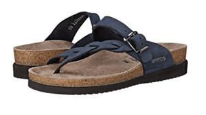 Mephisto Helen Twist Azul Marino Nubuck Comfort Sandal mujer Tallas 35-42    nuevo