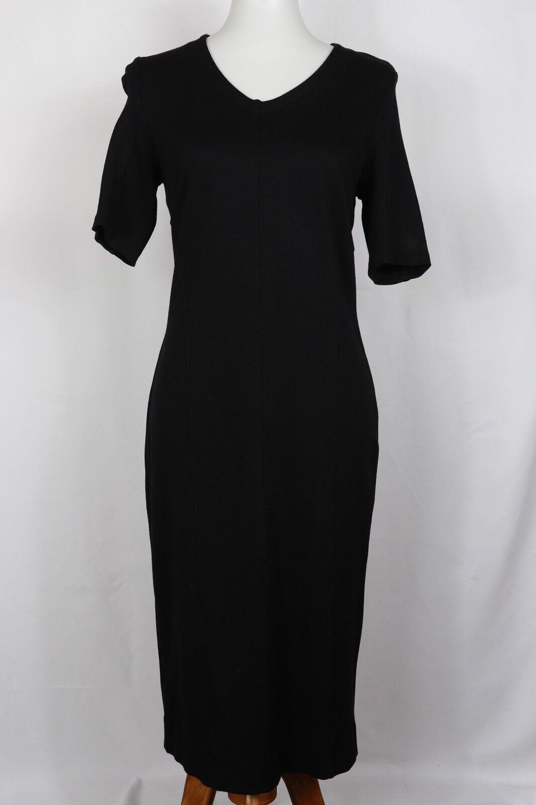 CAbi Style #3101 Claire V Neck Dress Ponte Knit B… - image 1