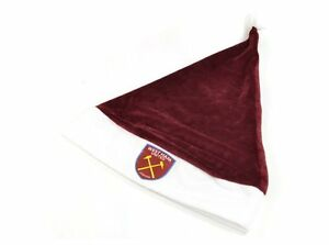 ab2bdc96b7e Image is loading West-Ham-United-FC-Christmas-Supersoft-Santa-Hat