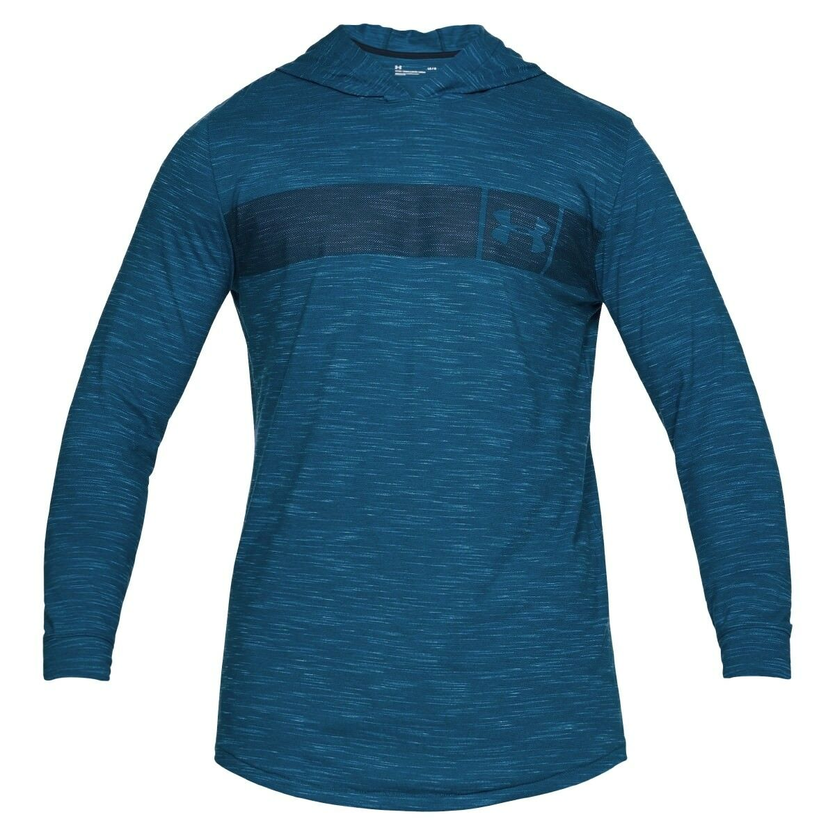 Under Armour Sportstyle Core Hoodie Herren Kapuzen Pullover Blau 1306490-487     | Überlegen  | Feinbearbeitung  | Rabatt