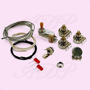 Wiring-Control-Kit-pour-SG-Gibson-Jeu-de-Composants-non-cables-WD-SGWirekit