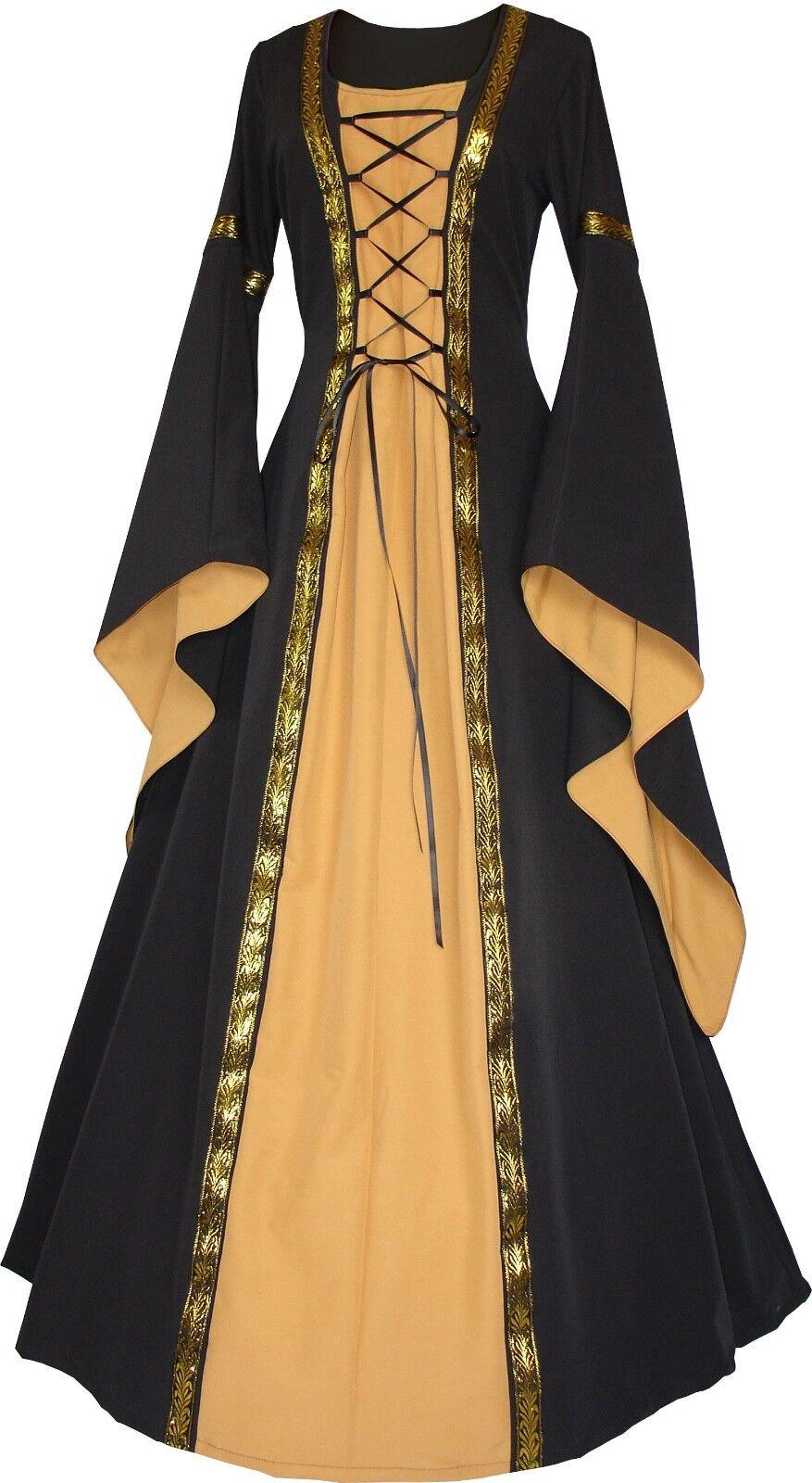 Mittelalter Gothic Karneval Gewand Kleid Kostüm Anna Maßanfertigung Farbwahl     | Won hoch geschätzt und weithin vertraut im in- und Ausland vertraut  | Speichern  | Guter Markt  | Öffnen Sie das Interesse und die Innovation Ihres Kindes, aber auch di