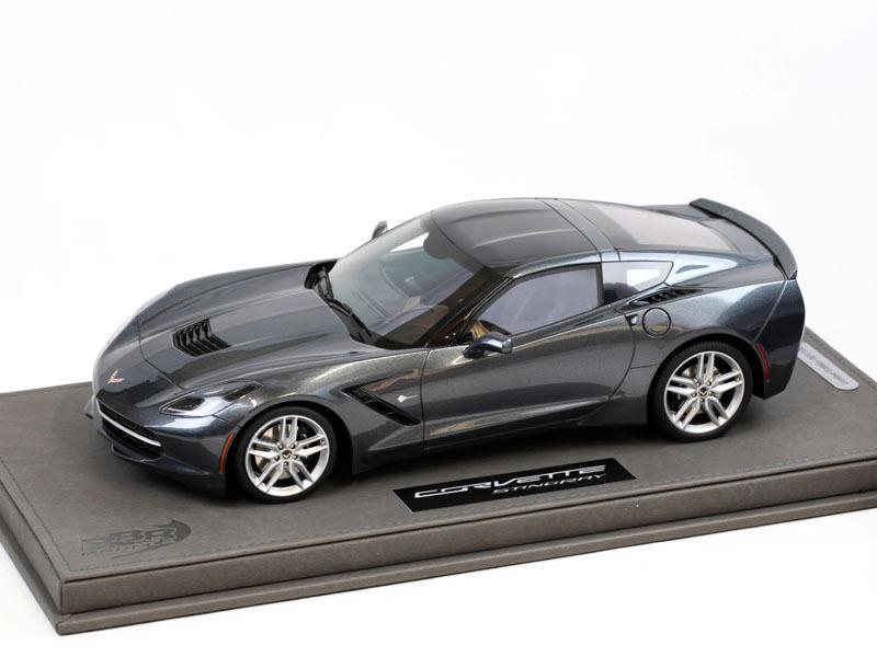 Corvette Stingris 2013 Ciber Metal Gris limite limite limite 100 pezzi  P1864A 1 18 BBr Models 266258
