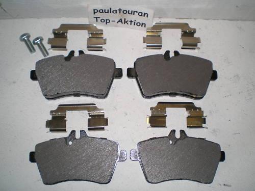 Bremsklötze für Mercedes A Klasse  B Klasse W245 vorne 24077 Klötze Vorderachse